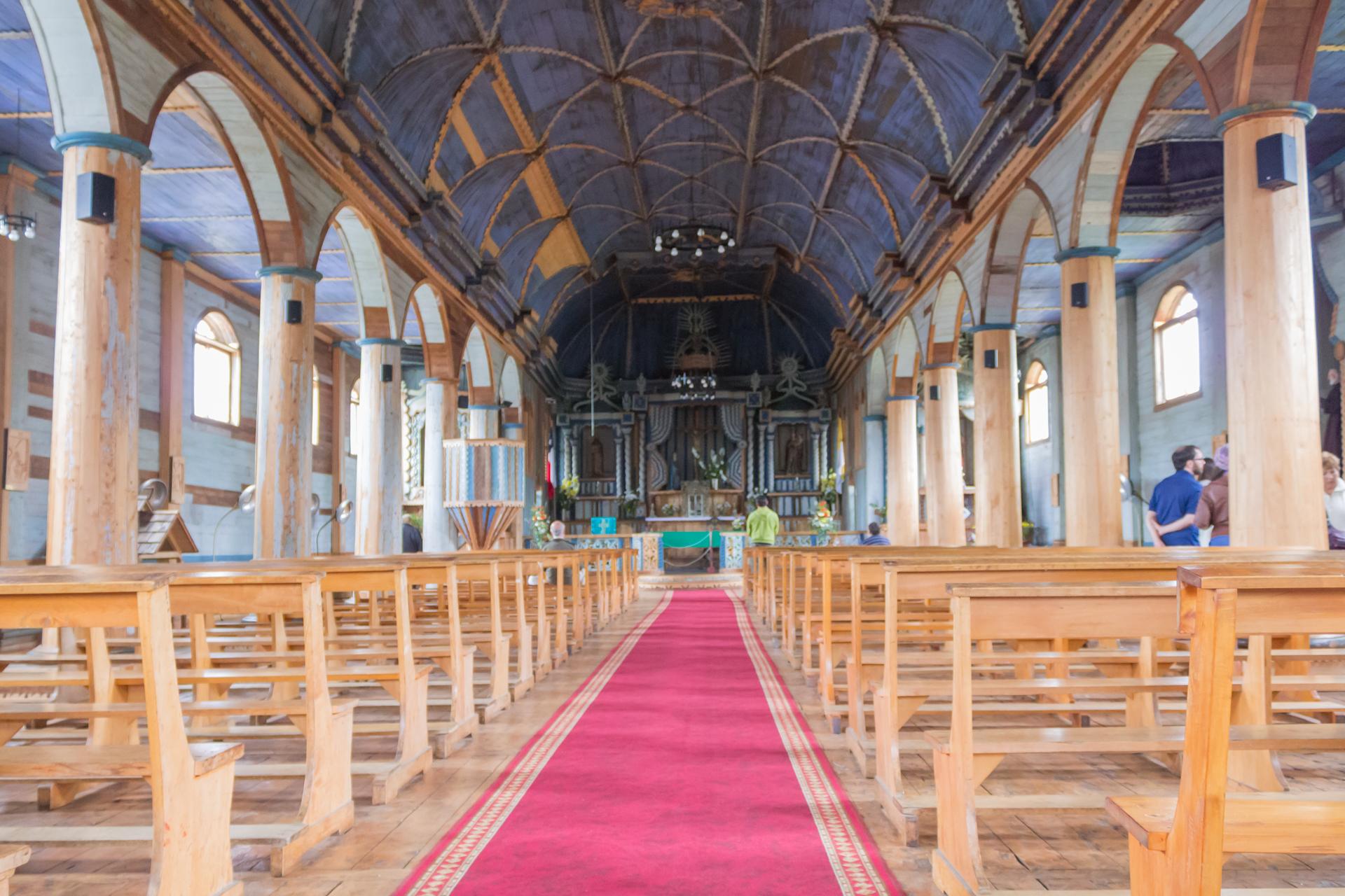 Pasillo Iglesia